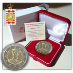 "Monaco 2 euro 2019 ""Prince Honoré V"" proof"