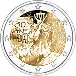 "Saksamaa 2 euro, 2019, ""30 years of the fall of the Berlin Wall"" UNC"