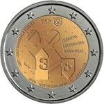 "Portugal 2 euro 2017a. ""Public Security"" UNC"