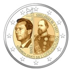 "Luksemburg 2 euro 2017a. ""Grand Duke Guillaume III"" UNC"