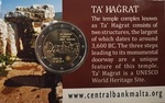 Malta 2 euro Ta' Hagrat 2019 Coincard with Mint Mark